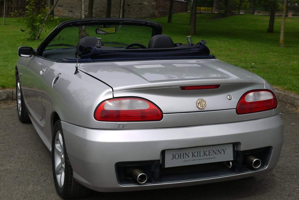2002 MG TF 1.8 16V 135 ***ONLY 34000 MILES FROM NEW*** 1 OWNER*** For Sale (picture 3 of 6)