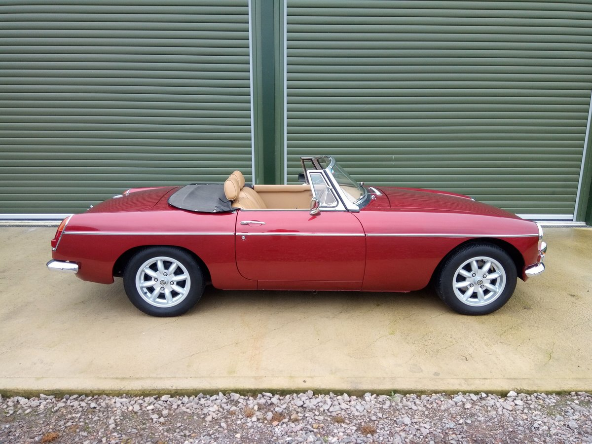 1967 MGB Roadster Stage 2 engine, leather interior SOLD (picture 2 of 6)