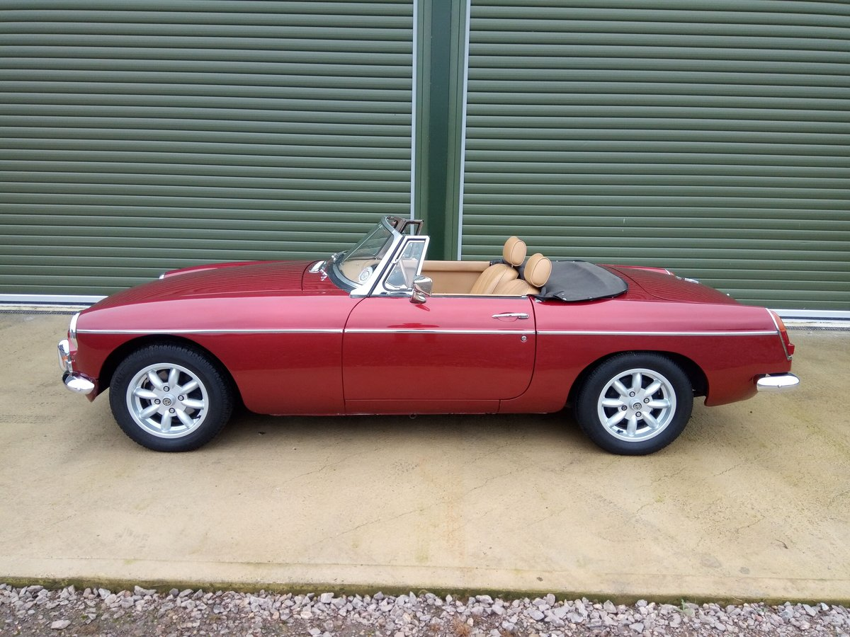 1967 MGB Roadster Stage 2 engine, leather interior SOLD (picture 4 of 6)