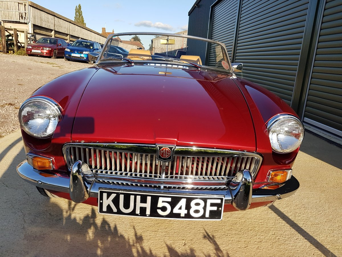1967 MGB Roadster Stage 2 engine, leather interior SOLD (picture 5 of 6)