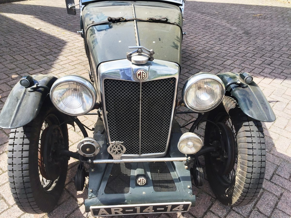 1936 MG Magnette Musketeer Recreation € 94.500 For Sale (picture 2 of 6)
