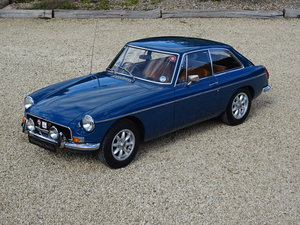 MGB GT – One Family/2 Owners from new For Sale