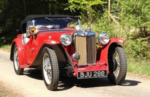 1938 MGTA Very reliable pre-war  For Sale