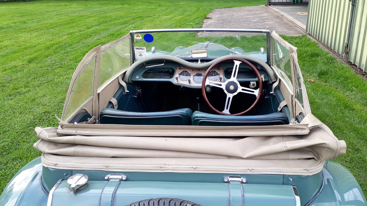 MG TF Midget 1250 1954 Green 53k Miles 5 Owners Original TD For Sale (picture 3 of 6)