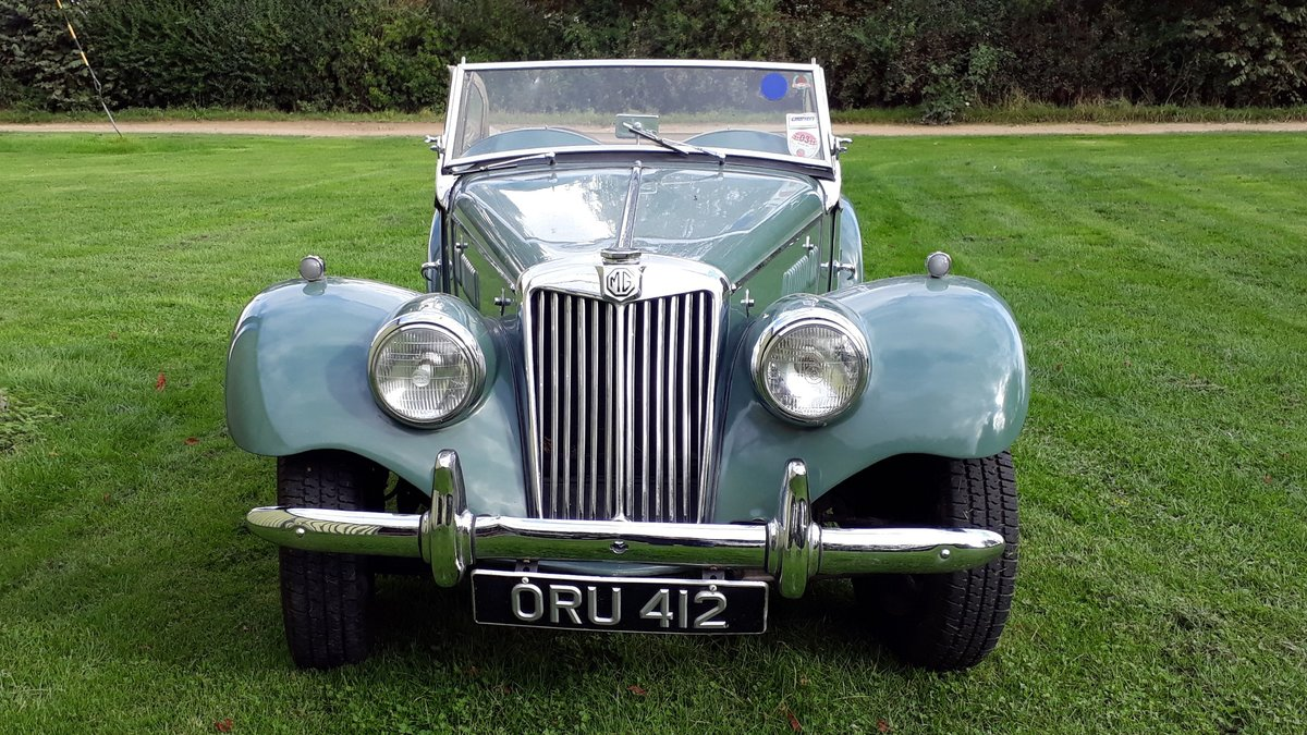 MG TF Midget 1250 1954 Green 53k Miles 5 Owners Original TD For Sale (picture 5 of 6)