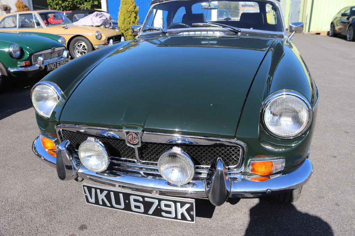 1972 MGB HERITAGE SHELL in BRG For Sale (picture 1 of 6)