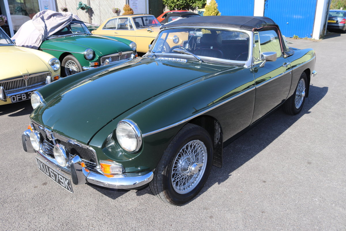 1972 MGB HERITAGE SHELL in BRG For Sale (picture 2 of 6)