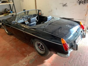 1972 Mgb gt overdrive dry stored 35 years