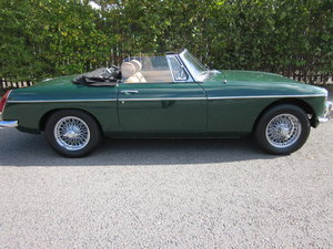 1970 MGB Roadster 1800 Overdrive in British Racing For Sale