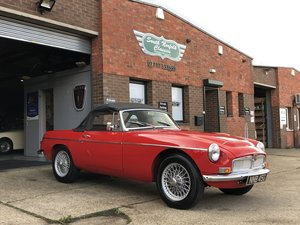 Picture of 1969 MGC Roadster manual with overdrive SOLD