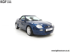 2001 An Astonishing MGF Freestyle Special Edition 15,337 Miles SOLD