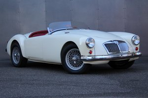 1958 MG A 1500 Roadster Supercharged LHD