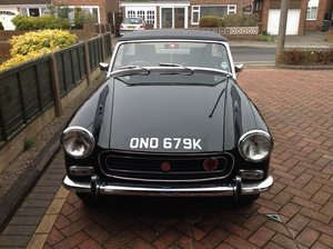 1971 MG Midget 1275 ( Chrome Bumper Model ) In Black.