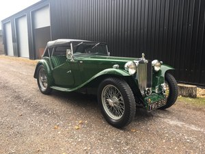 1947 MG TC – Presented to Concours standard SOLD