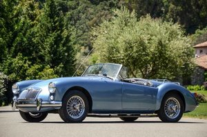 1959 MG MGA Roadster clean solid Blue driver LHD  $33.9k For Sale