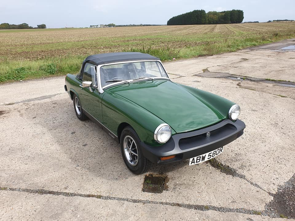MG Midget 1976 1500 NOW SOLD MORE REQUIRED For Sale (picture 1 of 6)