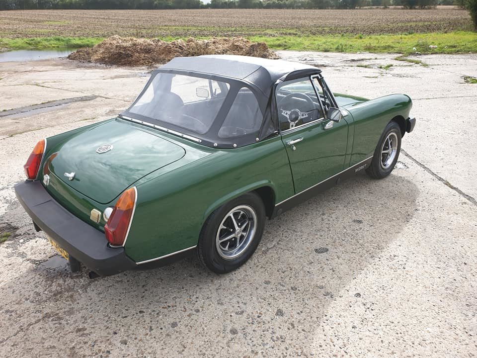 MG Midget 1976 1500 NOW SOLD MORE REQUIRED For Sale (picture 2 of 6)