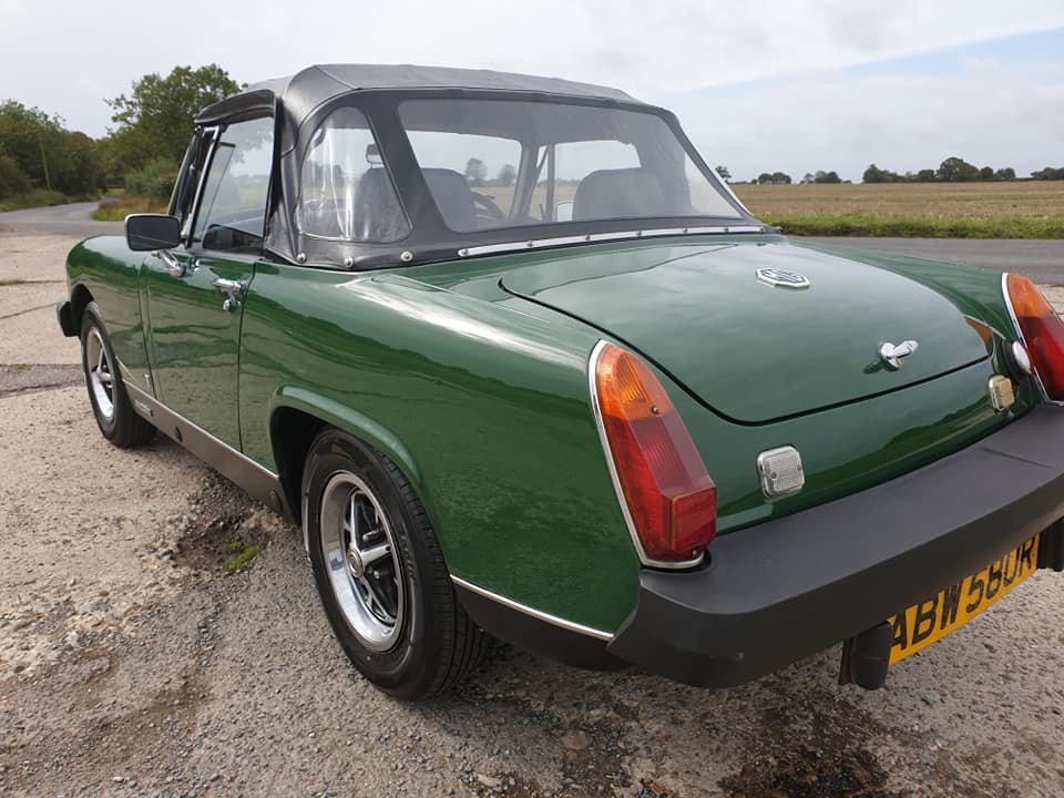 MG Midget 1976 1500 NOW SOLD MORE REQUIRED For Sale (picture 3 of 6)
