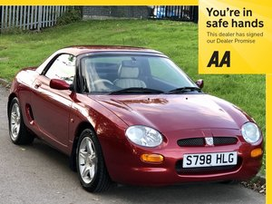 1998 MGF 1.8 VVC Roadster - 30,200 miles!! - HARD & SOFT TOP SOLD
