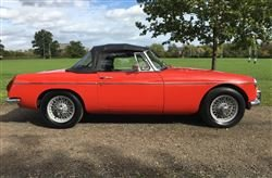 1974 MGB Roadster - Barons Saturday 26th October 2019