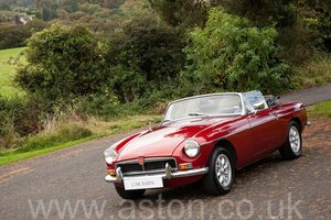 1974 MGB Roadster SOLD