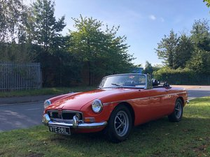 1972 MGB Roadster Manual / Overdrive For Sale
