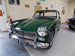 MG Midget 1965 STUNNING  RESTORATION PLEASE READ ADD  FULLY
