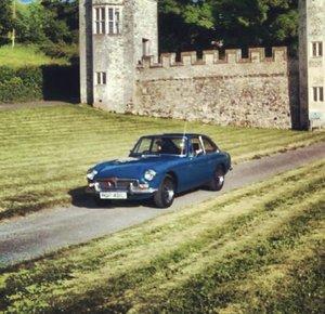 1973 MGB GT Original chrome bumper