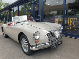 Charming 1959 MG A Roadster with great history For Sale
