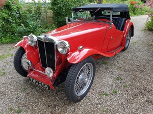 1949 MG TC - Fully restored