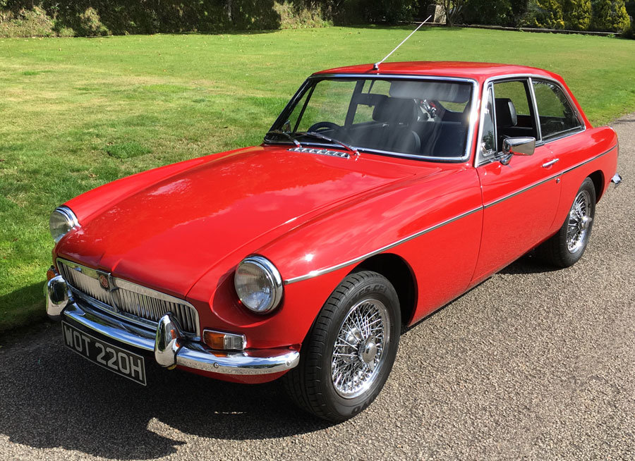 1970 MGB GT for Sale For Sale (picture 1 of 6)