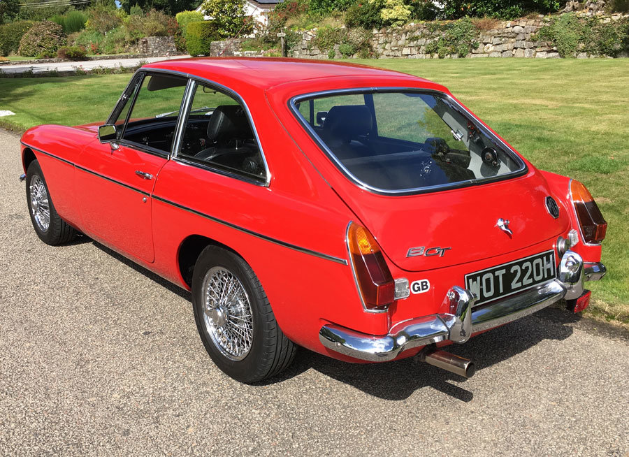 1970 MGB GT for Sale For Sale (picture 4 of 6)