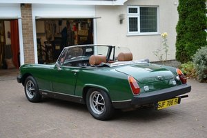 1977 MG MIDGET 1500 WITH OVERDRIVE For Sale