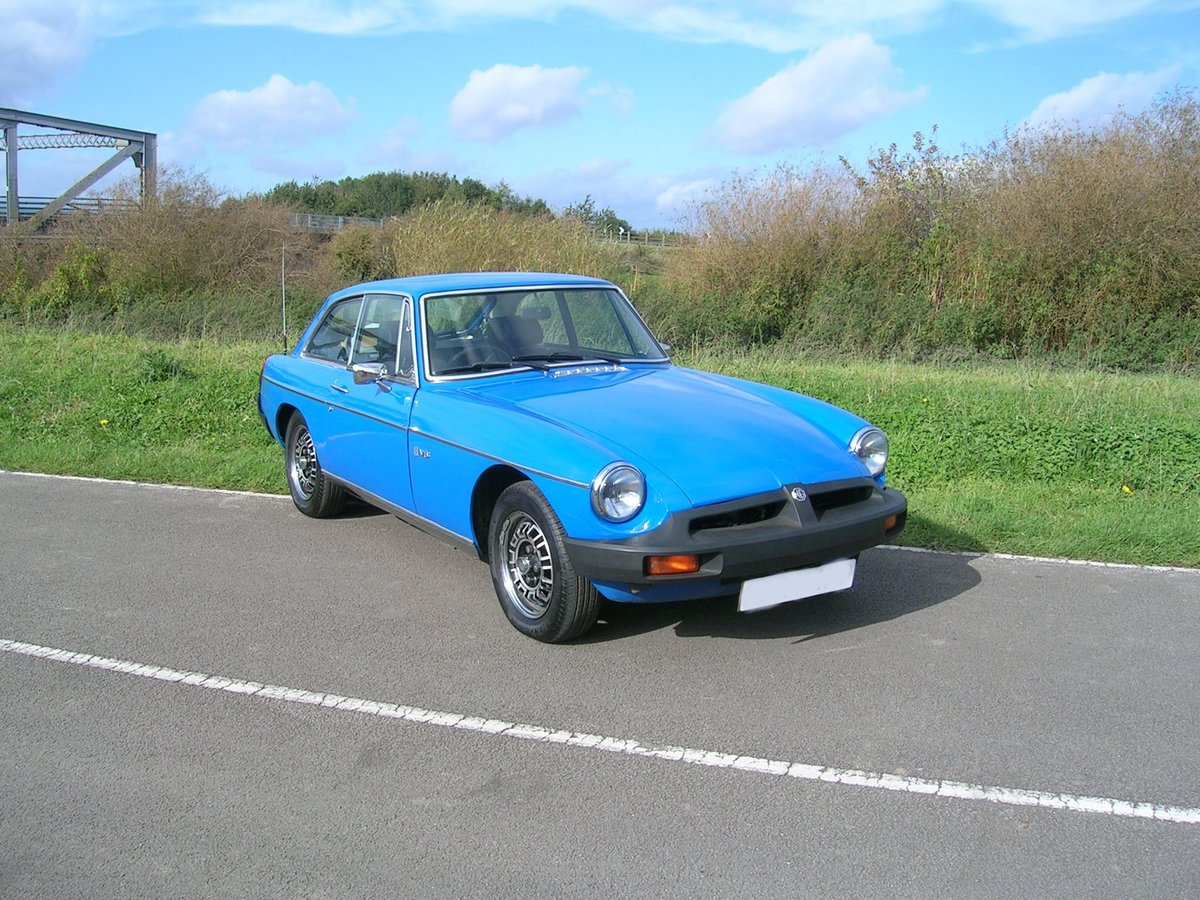 1976 MG BGT V8 3528cc For Sale (picture 1 of 6)