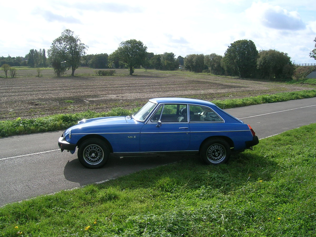 1976 MG BGT V8 3528cc For Sale (picture 3 of 6)