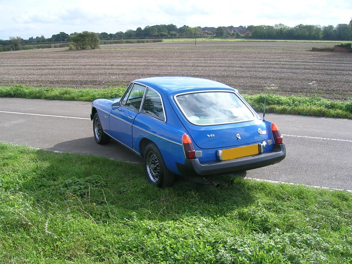 1976 MG BGT V8 3528cc For Sale (picture 4 of 6)