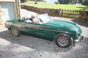 MGB Roadster 1972 Man O/D For Sale
