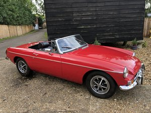 1974 MGB Roadster  Red For Sale