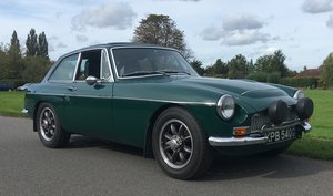 1969 MGC GT - HERO event prepared