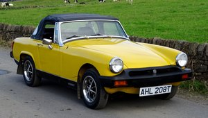1979 MG Midget Sports 1500 Twin Carb, New Hood, Loads of History SOLD