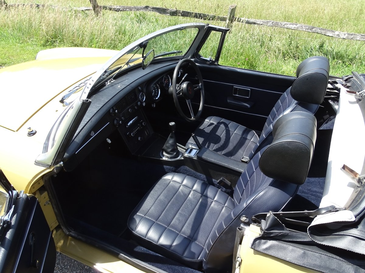 1973 Lovely matching numbers MGB,Heritage certificate,69000 miles SOLD (picture 5 of 6)