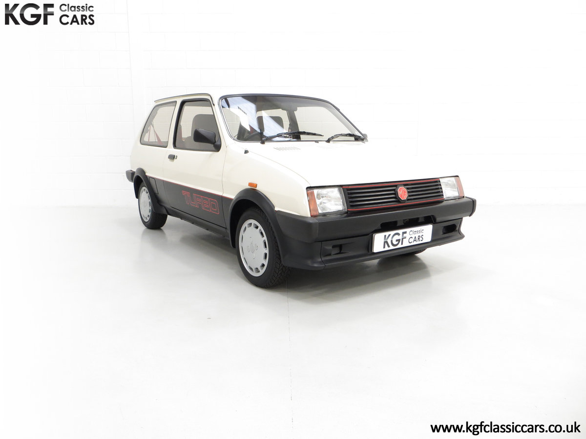 1984 A Concours Winning Mk1 MG Metro Turbo With 7,359 Miles SOLD (picture 1 of 6)