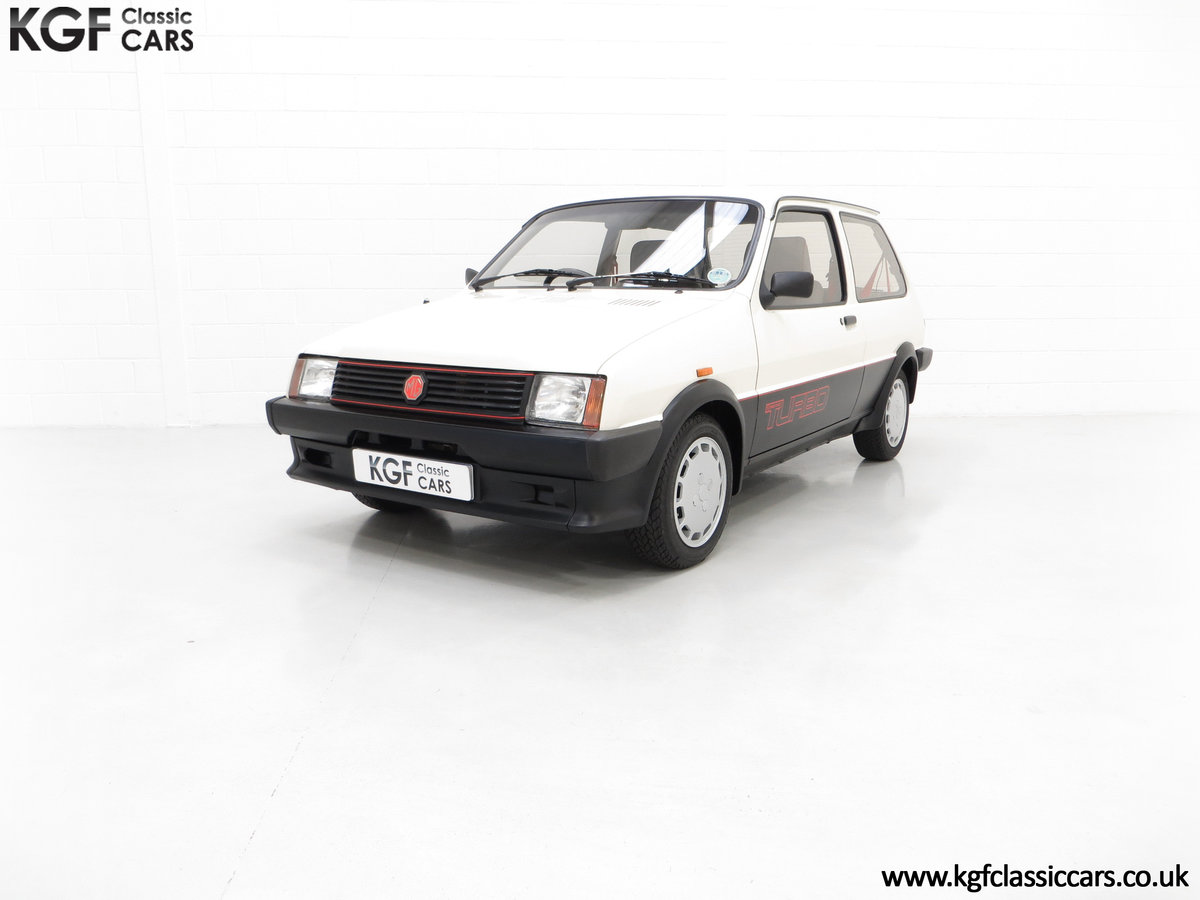 1984 A Concours Winning Mk1 MG Metro Turbo With 7,359 Miles SOLD (picture 2 of 6)