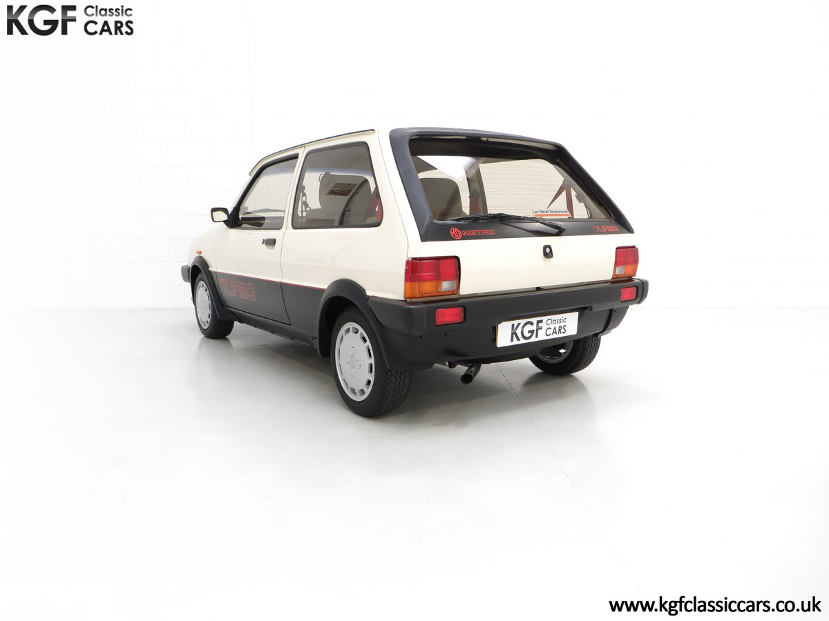 1984 A Concours Winning Mk1 MG Metro Turbo With 7,359 Miles SOLD (picture 4 of 6)