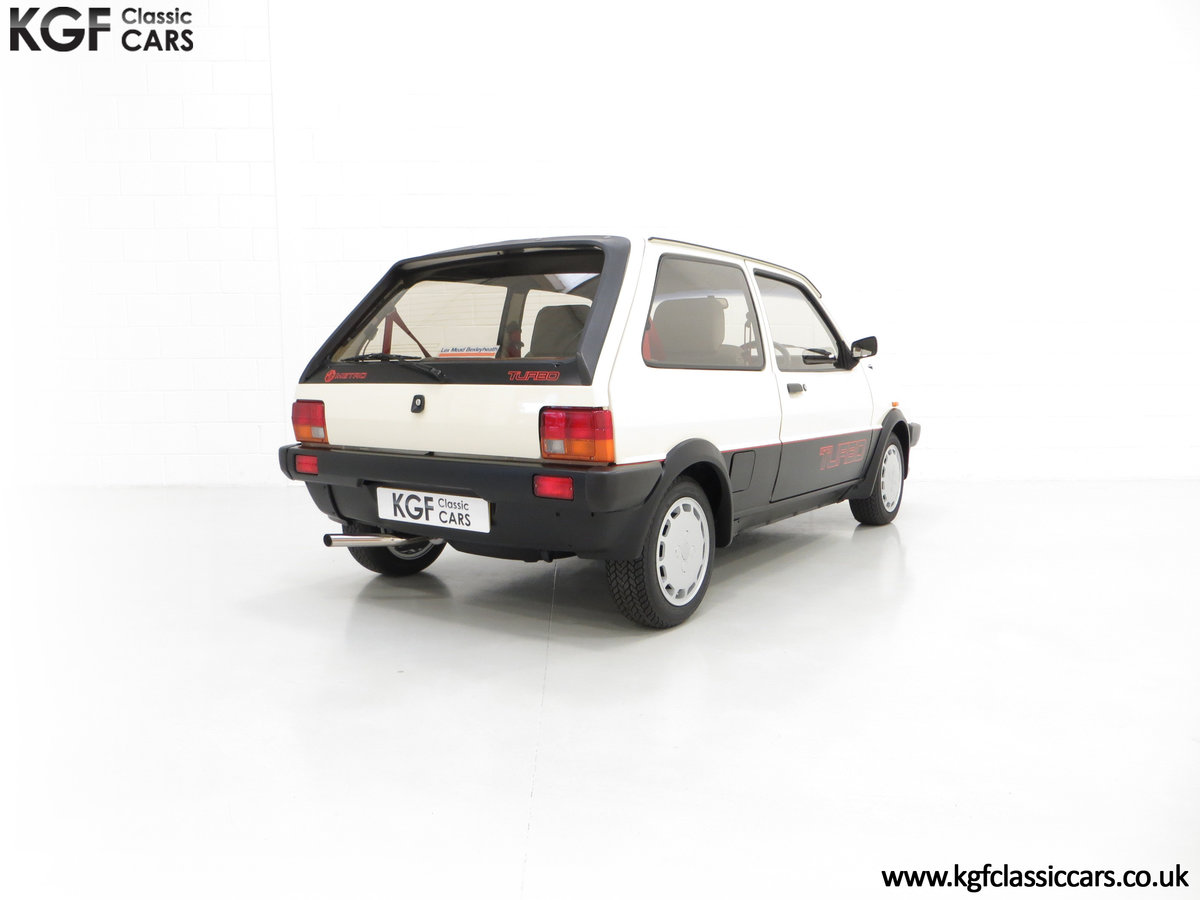 1984 A Concours Winning Mk1 MG Metro Turbo With 7,359 Miles SOLD (picture 5 of 6)