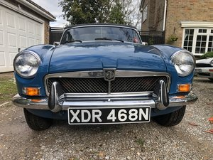 1974 MGB Roadster RHD For Sale
