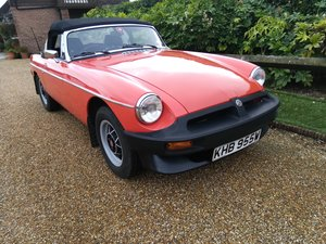 1981 MGB Roadster - Mot Oct 2020 - Full History - Lovely Car -  SOLD