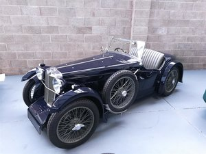 1932 MG F-TYPE F1 MAGNA STILES 'THREESOME SPORTS' TOURER