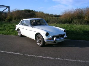 1972 MG BGT Coupe Chrome Bumper Historic Vehicle  For Sale