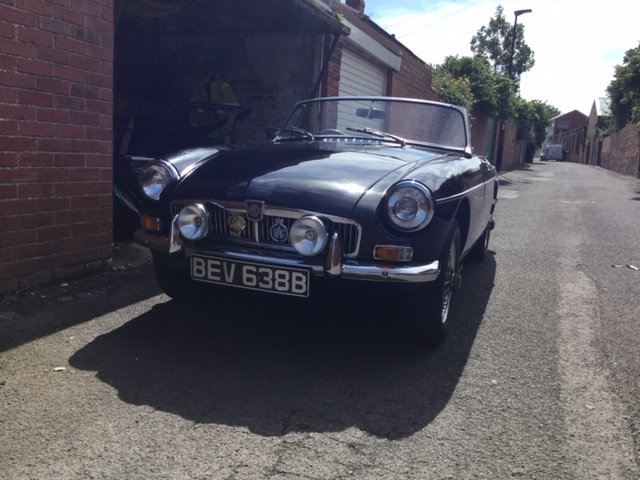 1964 MGB Roadster - Pull Handle For Sale (picture 1 of 6)
